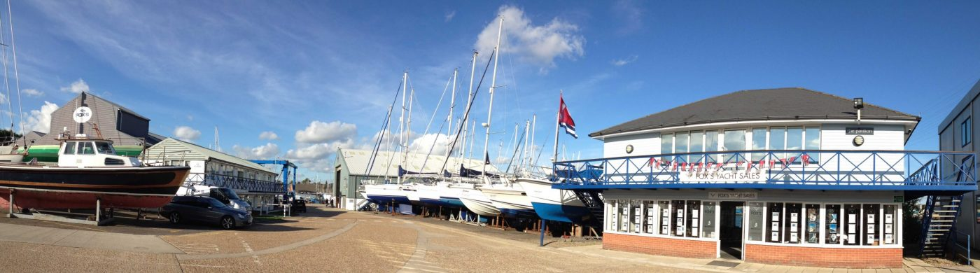 Fox Yachts Marina and Sales location