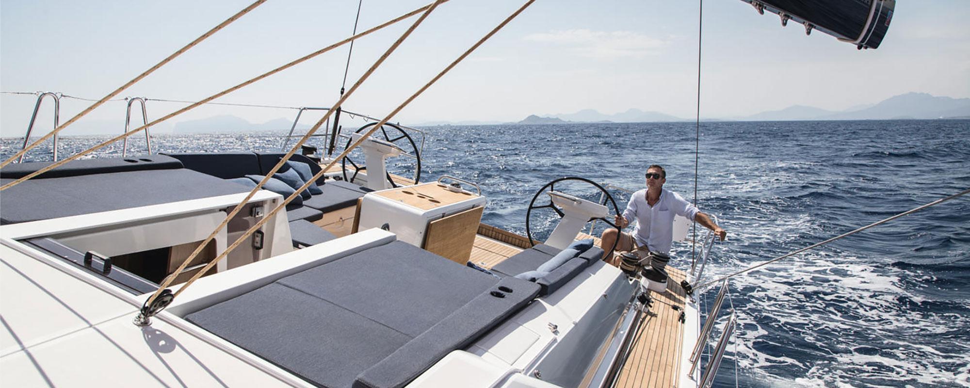Beneteau Oceanis 51 sailing